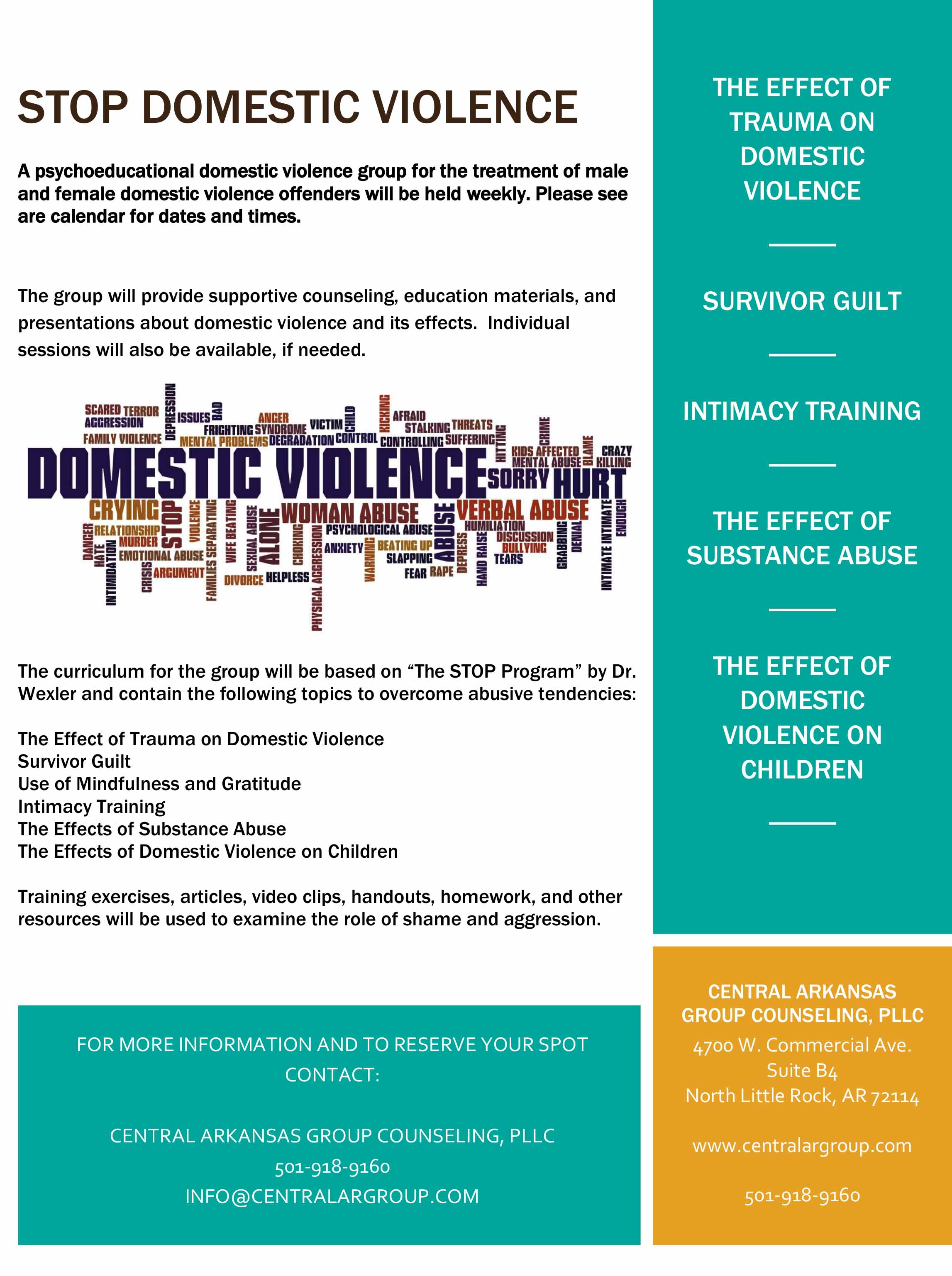 Domestic Violence Flyer 5.31.2018